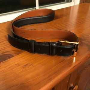 NWT Cole Haan Black Leather Belt